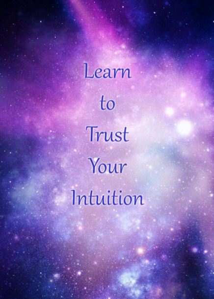 Learning to listen to your intuition